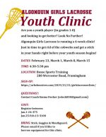 LAX youth clinic flyer