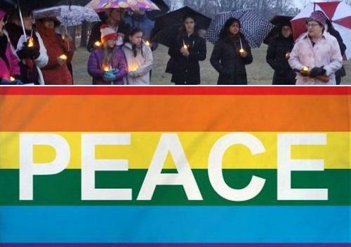 Post image for 2nd Annual Peace Vigil – Saturday
