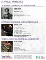 Symphony Pro Musica February concert