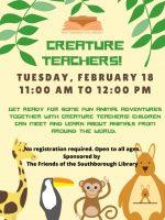 Creature Teachers flyer
