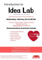 Intro to Teen Idea lab