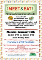 Meet and Eat flyer February