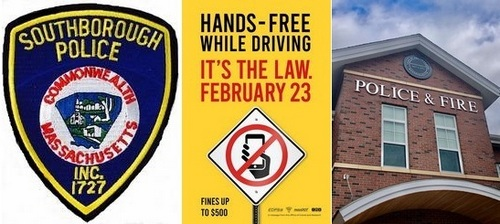 Post image for Police Update: Hands Free reminder, latest logs, and more