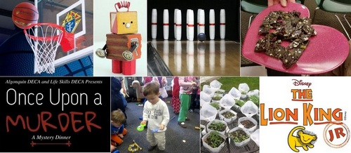 """Post image for Events this week: KoC Free Throw, """"robot"""" crafts, Legos, music for tots, Native seeds, Mystery Dinner, Chocolate, Finn dance, Lion King, and more"""