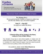cradles to crayons drive