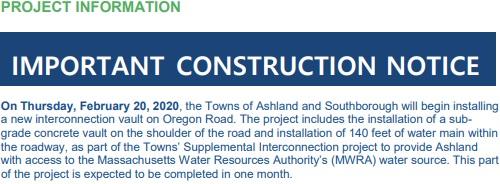 Post image for Oregon Road construction starts Thursday morning