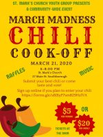 St Marks chili cook-off