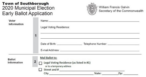 """Post image for Apply to vote early in the Town Election: You don't need to be """"absent"""""""