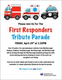First Responders Tribute Parade