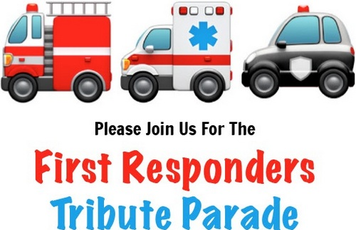 Post image for First Responders holding Tribute Parade to thank hospital workers this afternoon