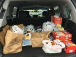 Food Pantry STA donation