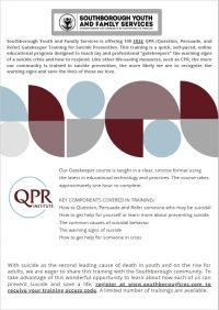 SYFS QPR Training