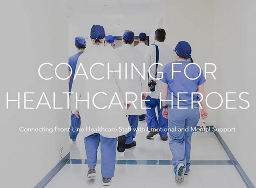 Post image for Healthcare Workers and First Responders can receive free emotional support coaching