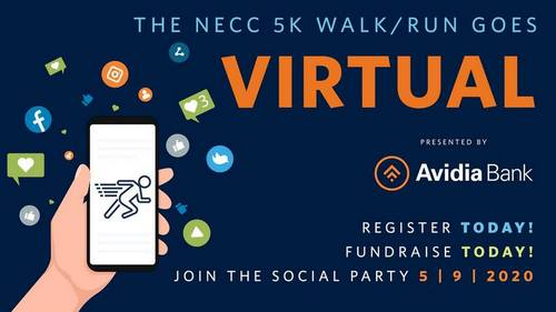 Post image for Reminder: NECC 5K going Virtual – Saturday fundraiser