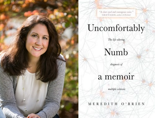 """Post image for Southborough author writes about her """"life-altering"""" MS diagnosis in """"Uncomfortably Numb"""""""