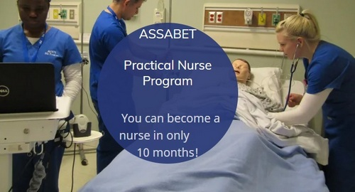 "Post image for Apply now for Assabet's ""Fast Track to Nursing"" program"