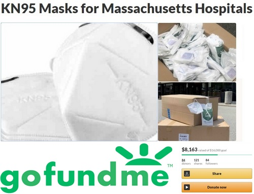 Post image for Resident asking public to support purchasing of masks for Mass hospitals