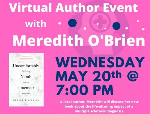 Post image for Virtual Author Night: Meredith O'Brien on May 20th