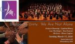 Images from my post promoting AVM's March Concert