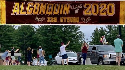 Post image for Photos: Faculty Farewell tribute to Algonquin seniors