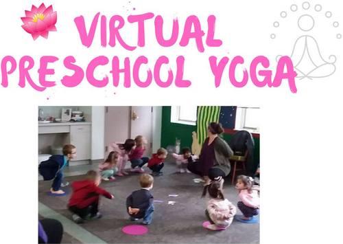 Post image for Virtual Preschool Yoga – Wednesday