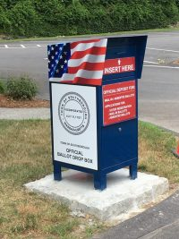 Southborough Ballot Drop in Box