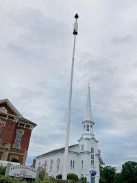 Town House flagpole
