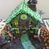 haunted gingerbread house from flickr