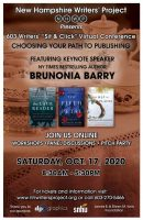 NHWP Writer's Conference flyer