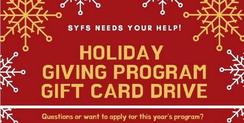 Post image for SYFS Holiday Giving: Seeking and offering help