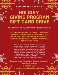 Holiday Giving Program flyer