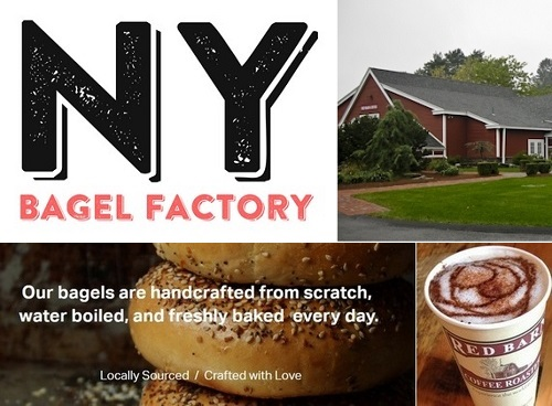Post image for Southborough's Red Barns are now NY Bagel Factories serving RB Coffee