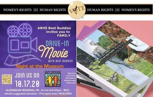 Post image for Weekend at a Glance: Early voting starts, Women's March, Drive-in Movie, Poetry Reading, and Art and Fun on the farm