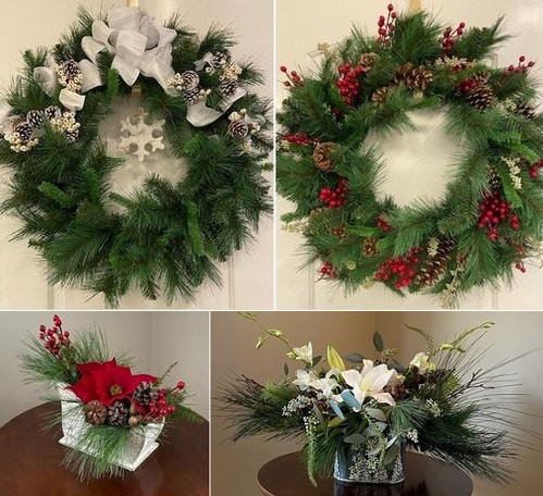 Post image for Order your Southborough Gardeners' fresh Holiday Wreaths and Table Arrangements (Updated again)