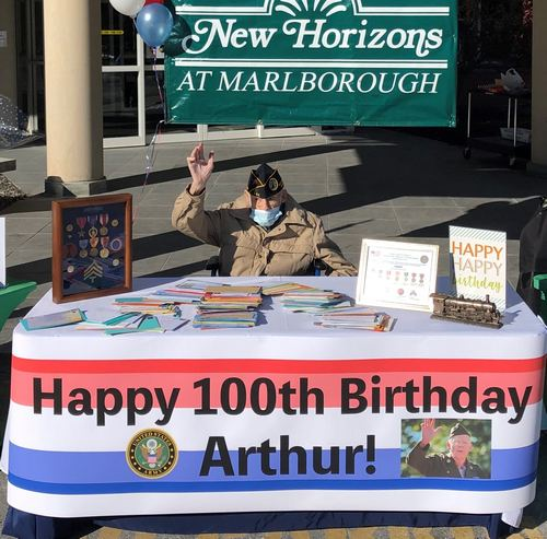 Post image for Community turned out in celebration of Arthur Butler's 100th Birthday