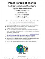 Peace Parade of Thanks