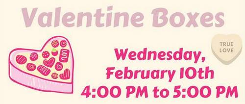Post image for Virtual Craft sessions: Valentine Boxes, Sculpey Fun, and Cookie Decorating