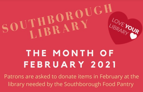 Post image for Library asking patrons to show the Food Pantry some love this month (Updated)