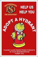 SFD Adopt a Hydrant flyer