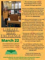 Library Seed Exchange Flyer