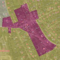 zoning map Downtown District and abutters