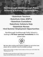 District substitute flyer