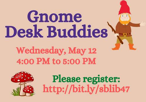 Post image for Crafting over zoom and Crafternoons outdoors: Gnome Desk Buddies and more