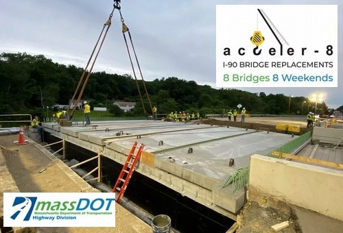Post image for Acceler-8 I-90 Bridge: Cordaville Rd to be closed (4pm Friday through early Monday)