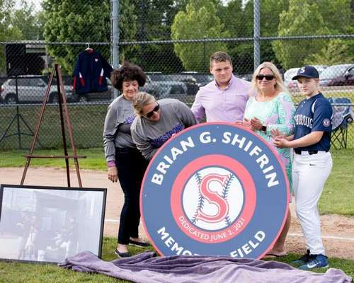 Post image for Baseball love: Shifrin Field dedication and a 100+ police turnout
