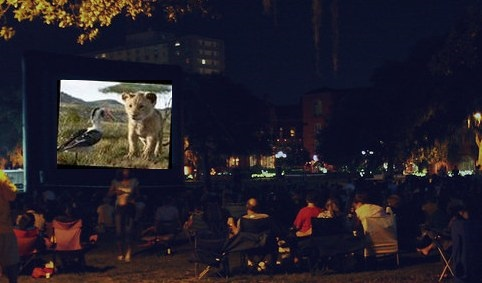 """Post image for """"Movies in the Park"""" start next Wednesday"""
