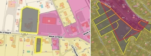 Post image for Downtown zoning: Suggestions, map issues, economic questions, transparency, and status