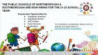 2021-22 school jobs