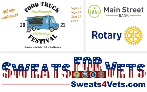 """Post image for Rotary's Food Truck Festival this fall will be collecting """"Sweats For Vets"""""""
