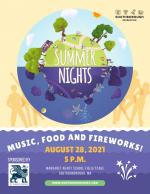 Summer Nights Flyer 2021